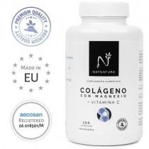 Colágeno con magnesio. Colágeno marino hidrolizado+magnesio