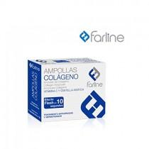Farline Ampollas Colágeno Efecto Flash 10 Segundos 11 Amp. de 2 ml