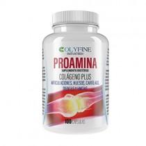 Proamina Colágeno Plus con Acido Hialurónico, Vitamina C y Condroitina+Glucosamina